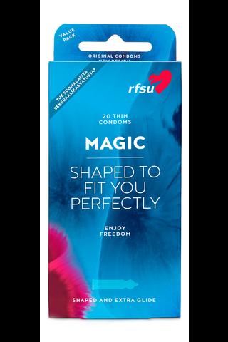 Magic 20kpl kondomi joka puristaa parhaasta paikasta