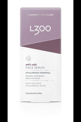 L300 30ml Hyaluronic Renewal Anti-Age Face Serum kasvoseerumi
