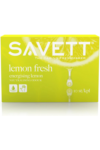 Savett 10kpl Lemon Fresh kosteuspyyhe