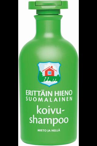 Erittäin Hieno Suomalainen 300ml Koivushampoo