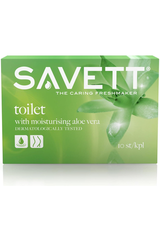 Savett Toilet kosteuspyyhe 10kpl