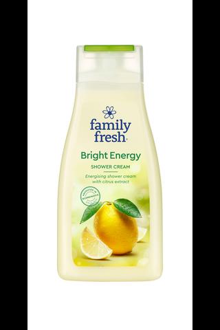 Family Fresh 500ml Bright Energy shower cream suihkusaippua