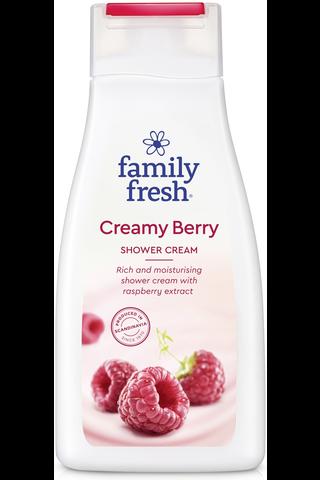 Family Fresh 500ml Creamy Berry suihkusaippua