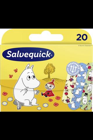 Salvequick Muumi lastenlaastari 3 kokoa 20kpl