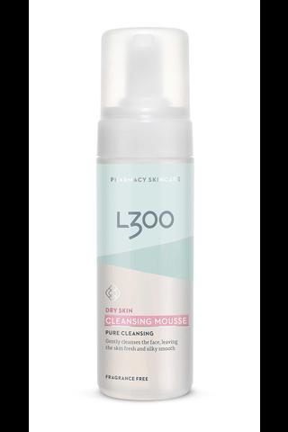 L300 150ml Cleansing Mousse kuivan ihon puhdistusvaahto