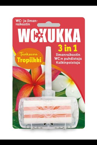 WC-Kukka 50g Tropiikki 3in1 geeli wc-raikastin