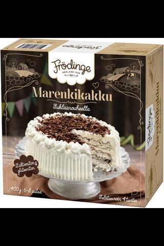 Frödinge marenkikakku suklaarouheella 400g