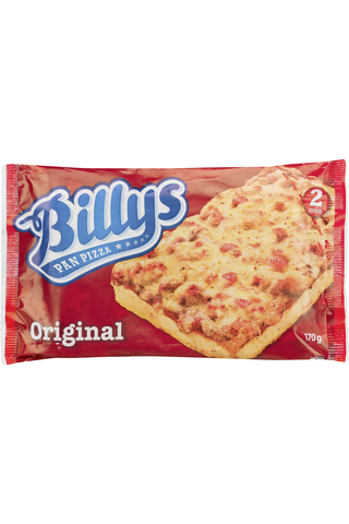 Billys 170g Original Pan Pizza pakaste