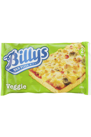 Billys 170g Pan Pizza Veggie pakaste