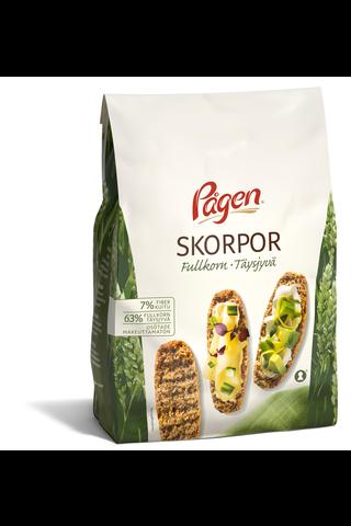 Pågen Skorpor Täysjyvä 400g täysjyvä korppu makeuttamaton