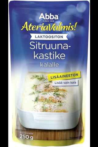 Abba AteriaValmis laktoositon sitruunakastike kalalle 250g