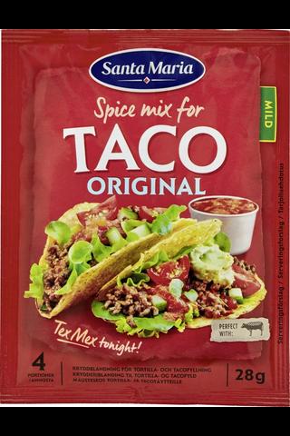 Santa Maria Tex Mex 28g Taco Spice Mix -mausteseos