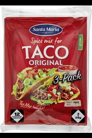 Santa Maria 84g Tex Mex Taco Spice Mix mausteseos 3-pack