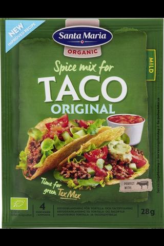 Santa Maria 28g Tex Mex Taco Spice Mix Organic mausteseos