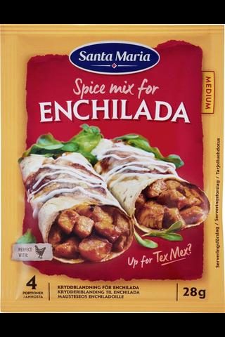 Santa Maria 28g Tex Mex Enchilada Spice Mix -mausteseos