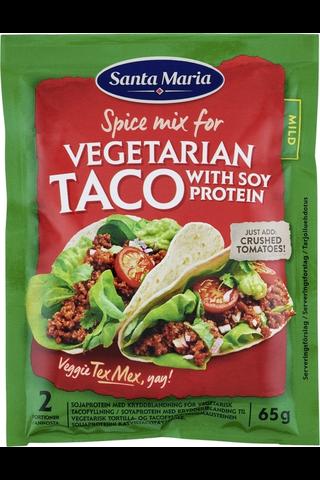 Santa Maria 65g Tex Mex Vegetarian Taco Mix soijaproteiini