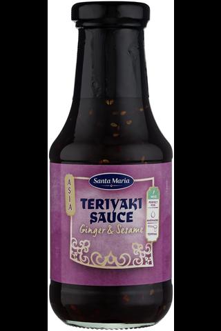Santa Maria 300ml Spicy World Teriyaki Sauce Ginger & Sesame kastike