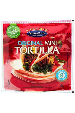 Santa Maria Tex Mex 200g Mini Tortilla Original