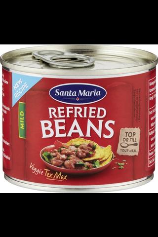 Santa Maria 215g Tex Mex Refried Beans pintopaputahna tölkki
