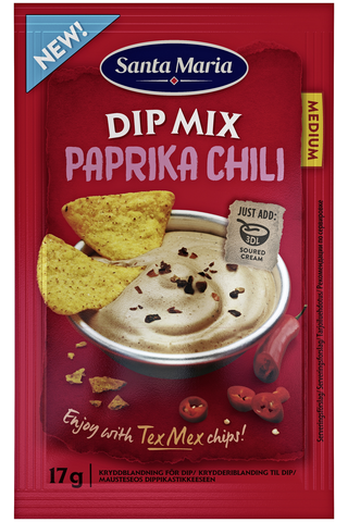 Sm paprika chili dip mix 17g
