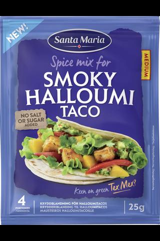 Santa Maria 25g Smoky Halloumi Taco maustesekoitus