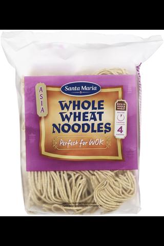 Sm whole wheat noodles for wok 200g