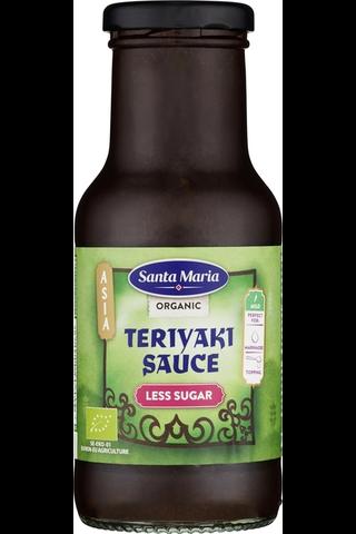 Santa Maria 250ML Organic Teriyaki Less Sugar