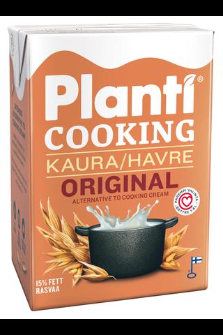 Planti Cooking original kaurapohjainen ruoanlaittovalmiste 15% rasvaa 2dl