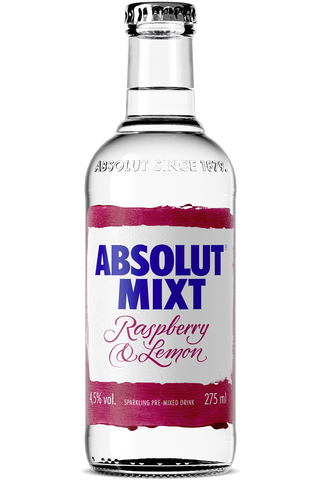 Absolut Mixt Raspberry&Lemon 275ml 4,5%