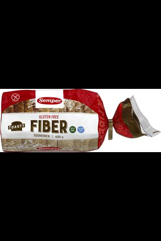 Semper 400g Toasty Rouheinen viipaloitu pakastevuokaleipä gluteeniton
