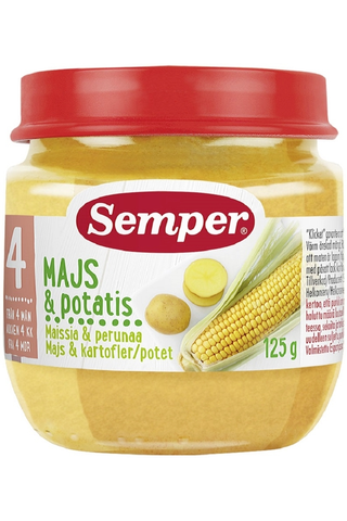 Semper 125g Maissia ja perunaa alkaen 4kk kasvissose