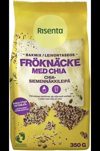 Risenta Chia-siemenet Siemennäkkileipäsekoitus 350g