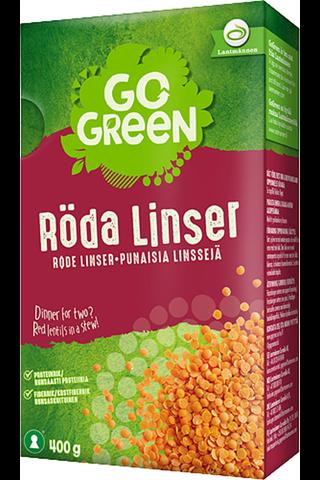 GoGreen 400 g Punaiset linssit