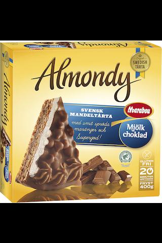 Almondy 400g Mantelikakku Marabou maitosuklaalla ja marengilla