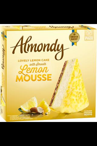 Almondy 400g Sitruuna moussekakku