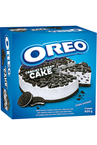 400g Oreo keksi ja kerma kakku
