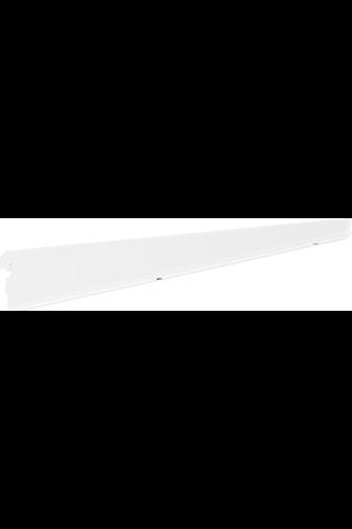 Elfa levyhyllyn kannatin tankopidinreiällä 370mm valkoinen