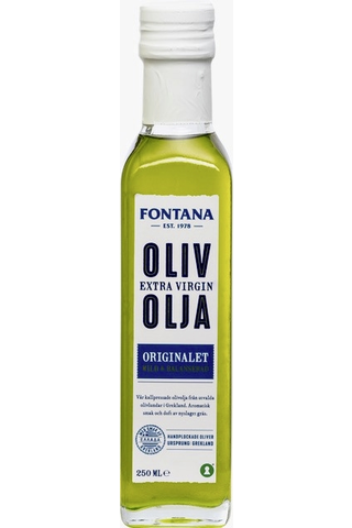 Fontana oliiviöljy 250 ml Orig E V