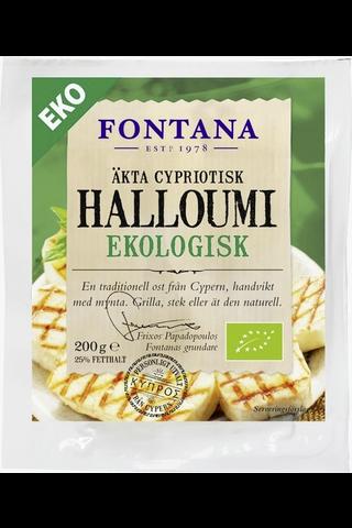 Fontana 200g halloumi juusto luomu