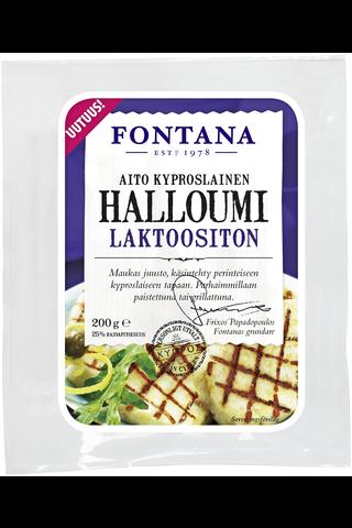 Fontana 200g halloumi juusto laktoositon