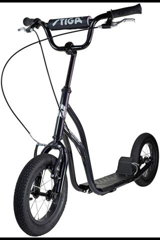 "Stiga Air Scooter potkulauta 12"" musta"