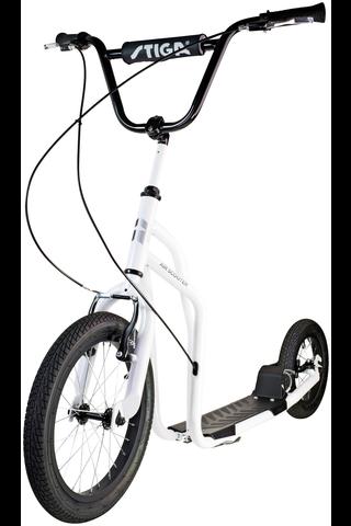 "Stiga Air Scooter 16"" valkoinen"