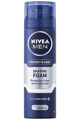 NIVEA MEN 200ml Protect & Care Moisturising Shaving Foam -partavaahto