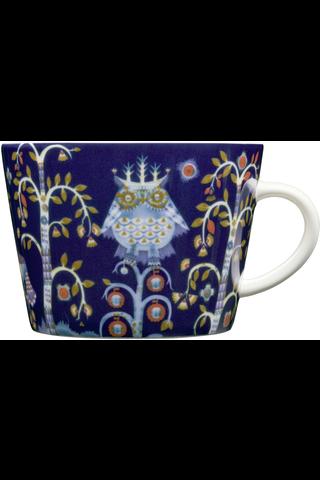Iittala Taika kahvi-/cappuccinokuppi 20cl sininen