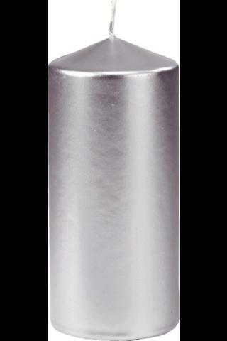 Duni 70x150mm hopea 50h pöytäkynttilä