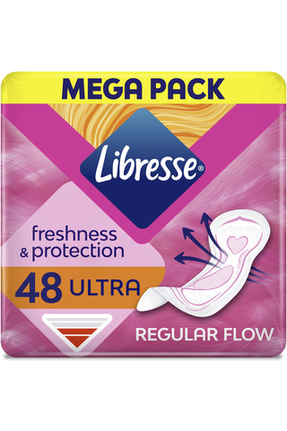 Libresse Ultra Normal megapaketti side 48 kpl