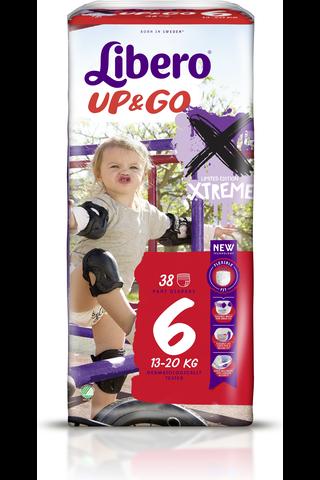 Libero Up&Go 38kpl koko 6, 13-20kg Housuvaippa