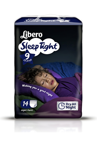 Libero SleepTight 9 Housuvaippa 14kpl 20-37kg