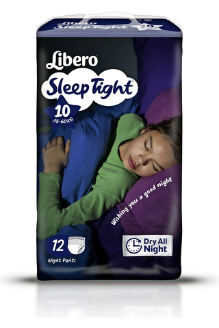 Libero SleepTight Housuvaippa koko 10 35-60kg 12kpl