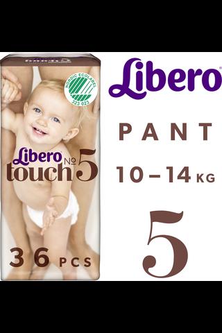 Libero Touch housuvaippa koko 5 10-14kg 36kpl
